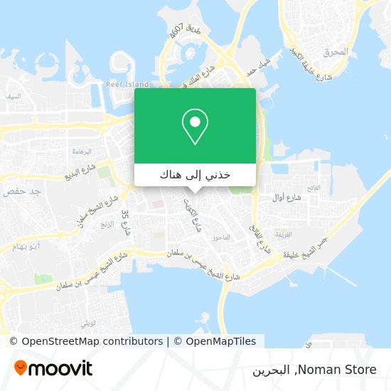 خريطة Noman Store