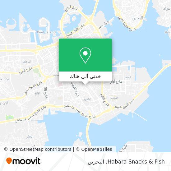 خريطة Habara Snacks & Fish