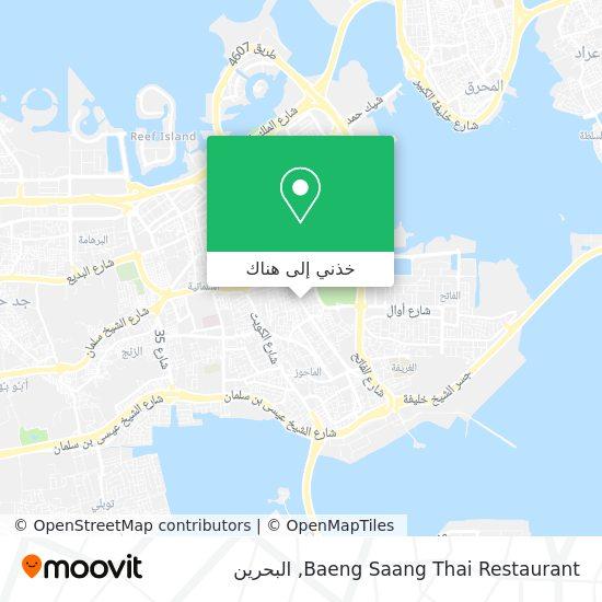 خريطة Baeng Saang Thai Restaurant