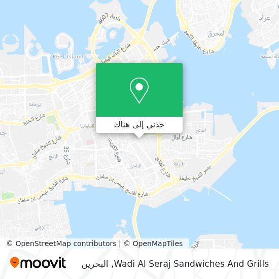 خريطة Wadi Al Seraj Sandwiches And Grills