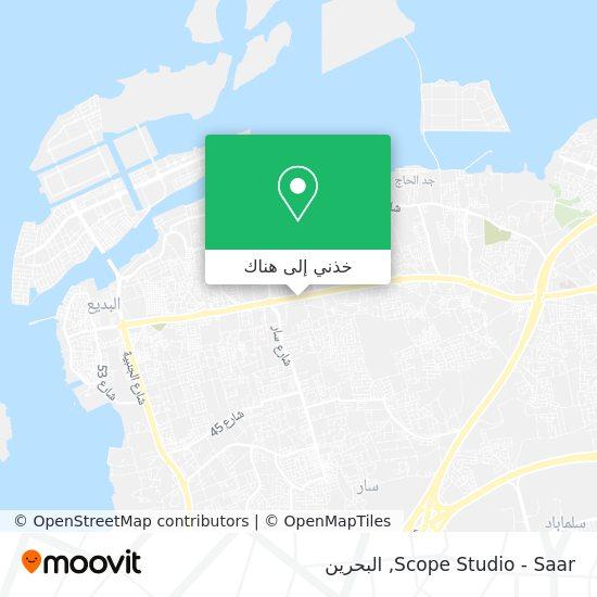 خريطة Scope Studio - Saar