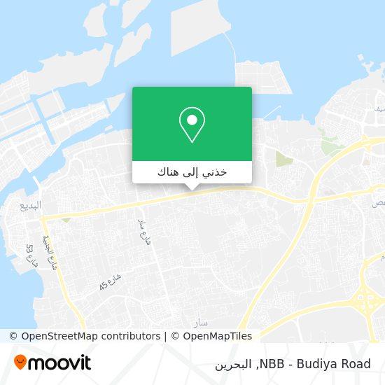 خريطة NBB - Budiya Road