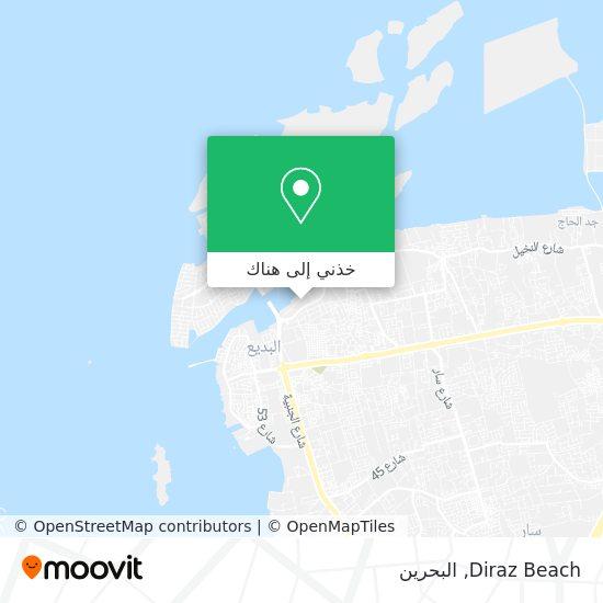 خريطة Diraz Beach