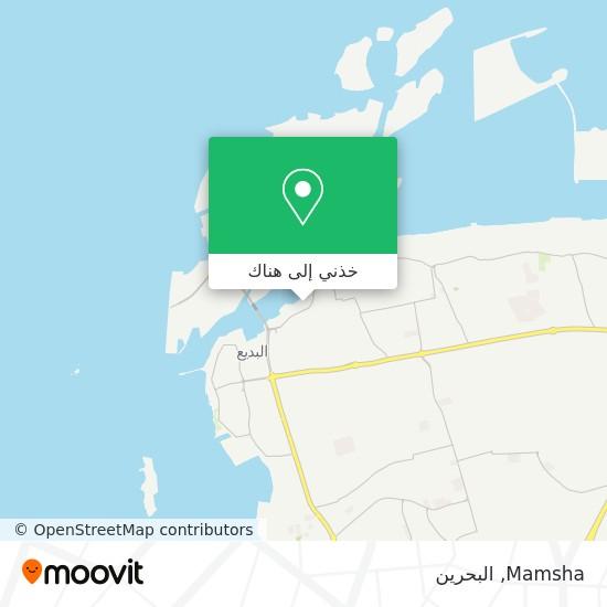خريطة Mamsha