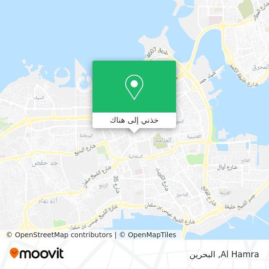 خريطة Al Hamra
