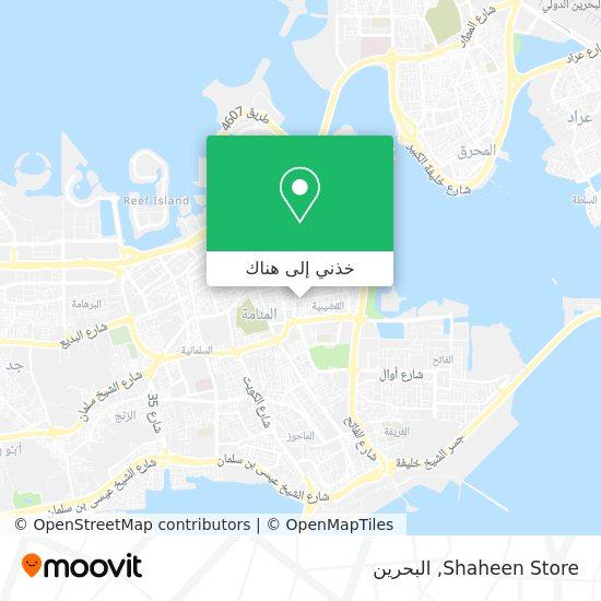 خريطة Shaheen Store