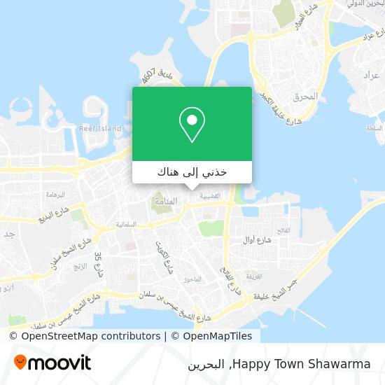 خريطة Happy Town Shawarma