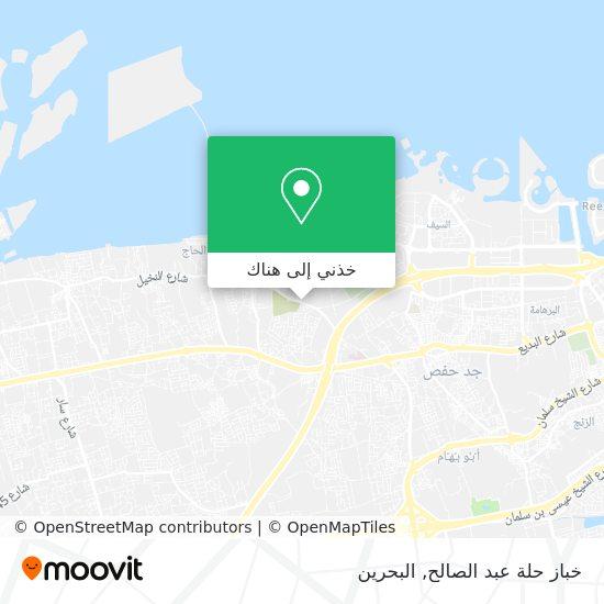 خريطة خباز حلة عبد الصالح