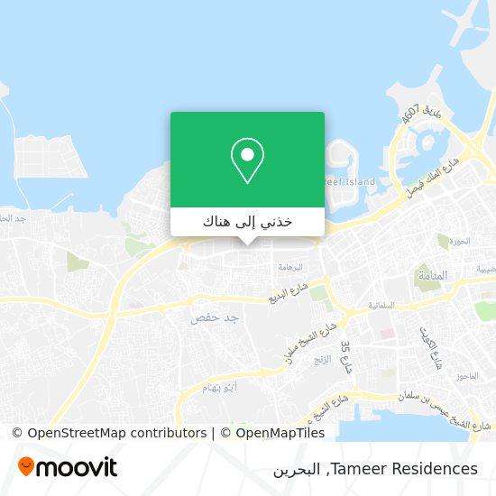 خريطة Tameer Residences