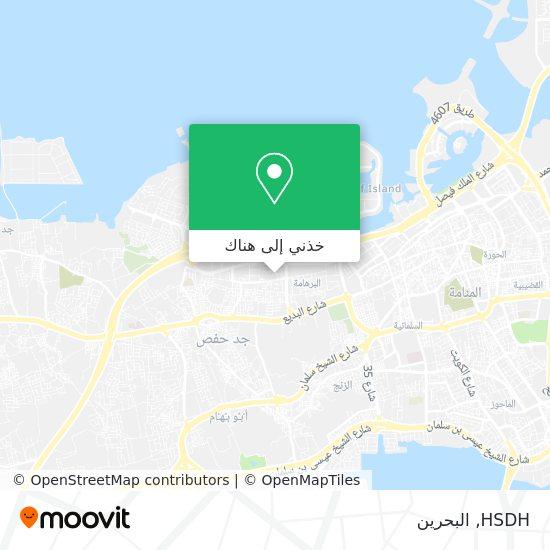 خريطة HSDH