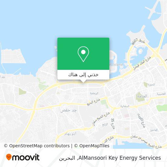 خريطة AlMansoori Key Energy Services