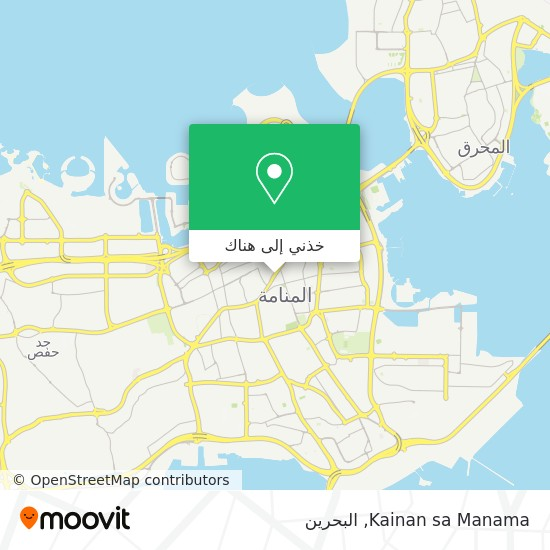 خريطة Kainan sa Manama
