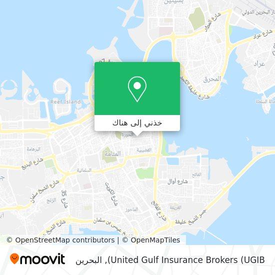 خريطة United Gulf Insurance Brokers (UGIB)