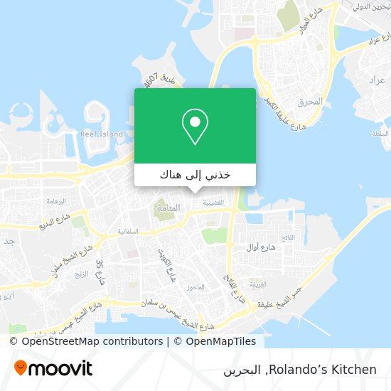 خريطة Rolando's Kitchen