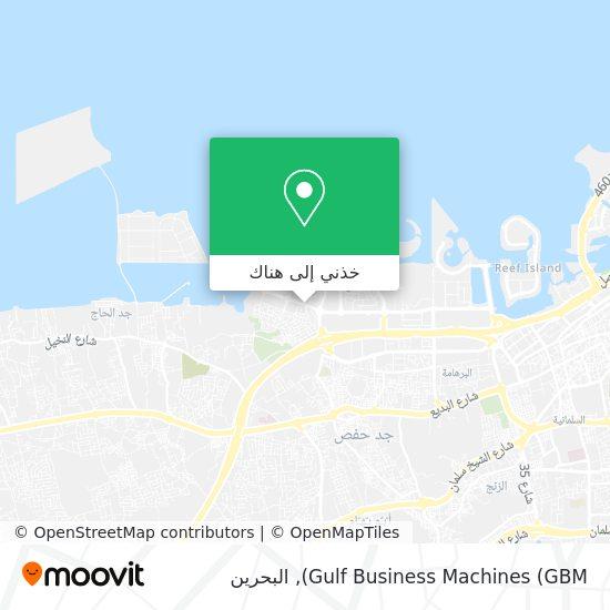 خريطة Gulf Business Machines (GBM)