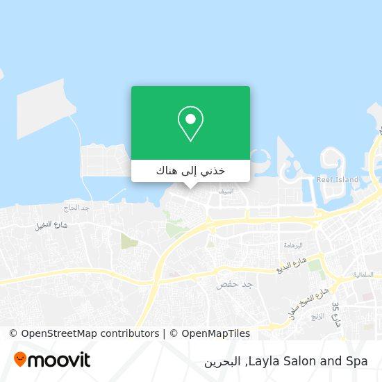 خريطة Layla Salon and Spa