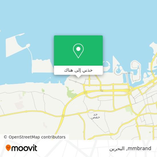 خريطة mmbrand