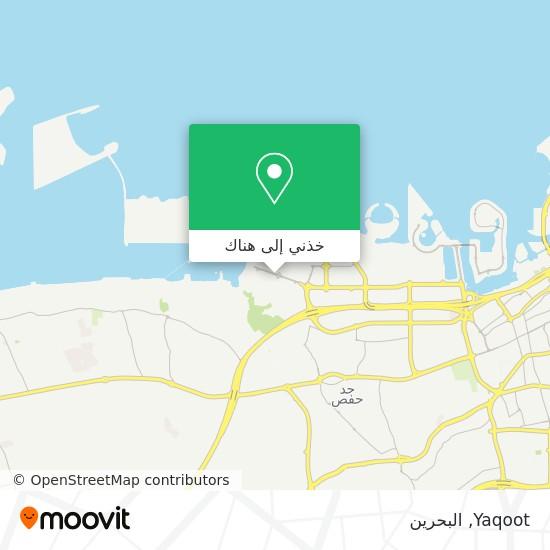 خريطة Yaqoot