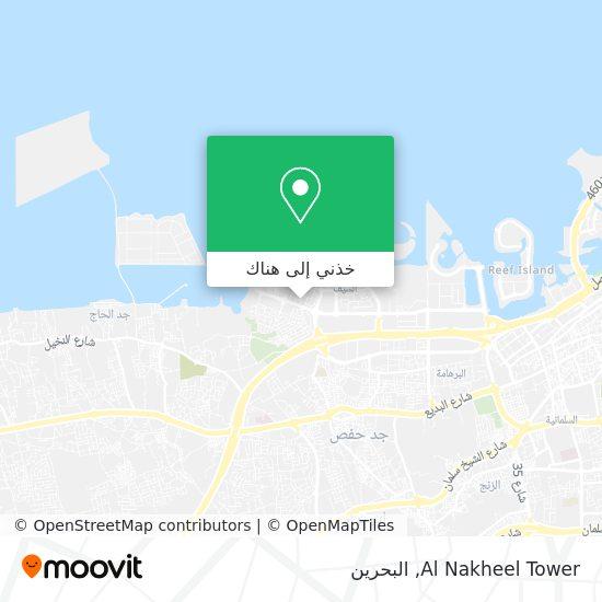 خريطة Al Nakheel Tower