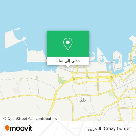 خريطة Crazy burger