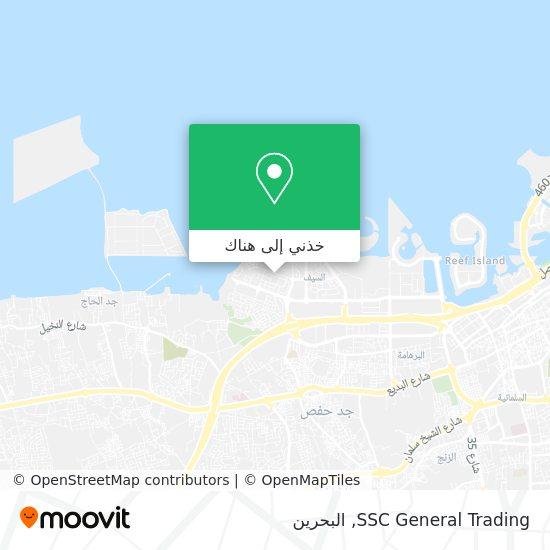 خريطة SSC General Trading