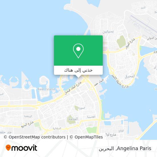 خريطة Angelina Paris