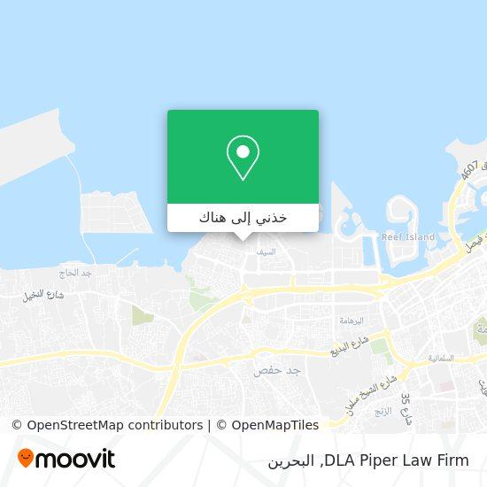 خريطة DLA Piper Law Firm