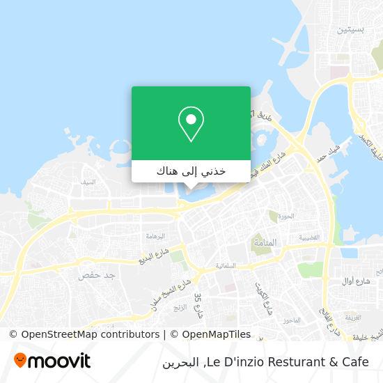 خريطة Le D'inzio Resturant & Cafe