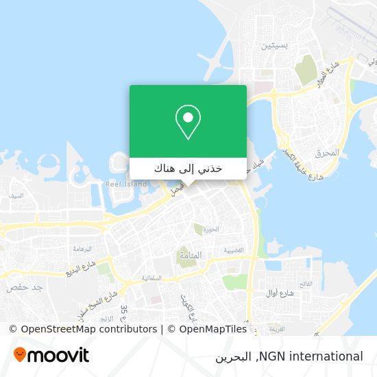 خريطة NGN international