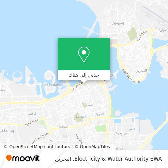 خريطة Electricity & Water Authority EWA