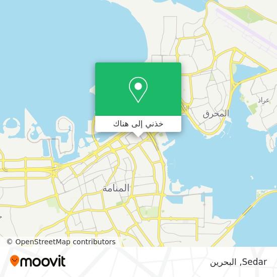 خريطة Sedar