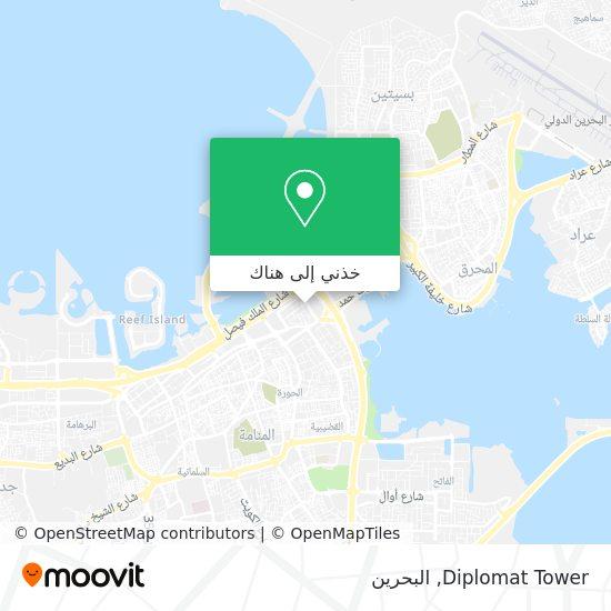 خريطة Diplomat Tower