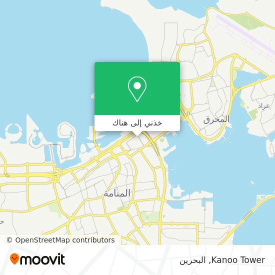 خريطة Kanoo Tower