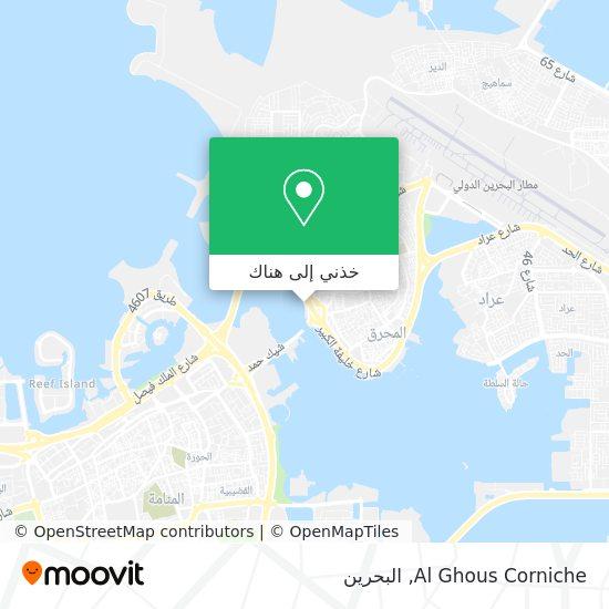 خريطة Al Ghous Corniche