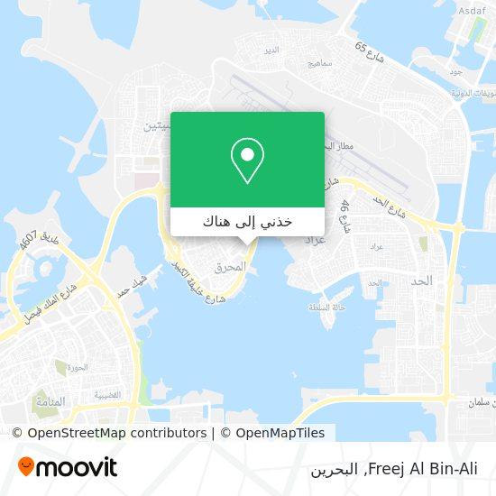 خريطة Freej Al Bin-Ali