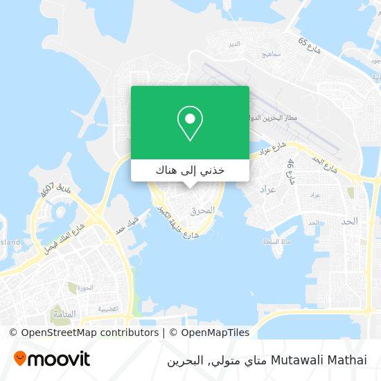 خريطة Mutawali Mathai متاي متولي