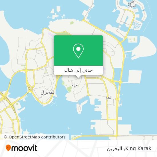 خريطة King Karak