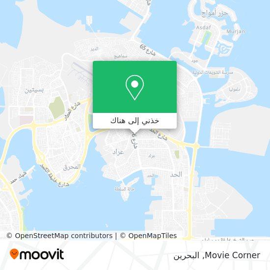 خريطة Movie Corner
