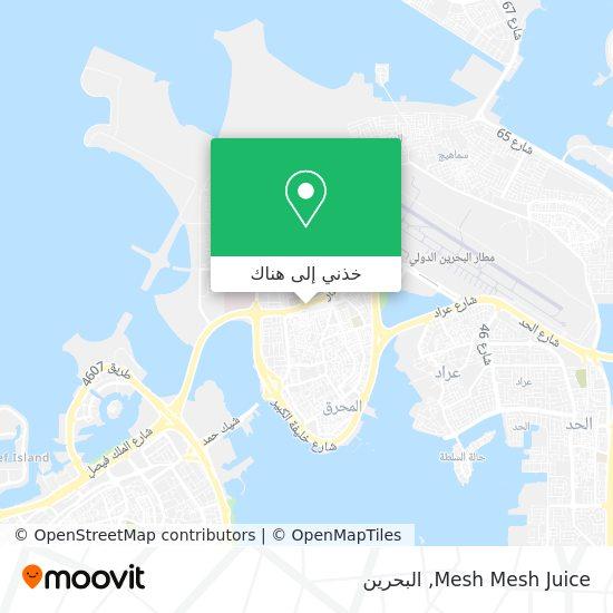خريطة Mesh Mesh Juice
