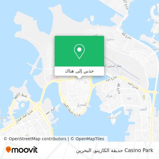 خريطة Casino Park حديقة الكازينو