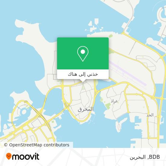 خريطة BDB