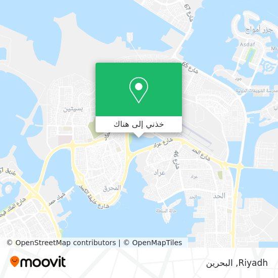 خريطة Riyadh