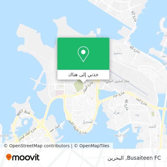 خريطة Busaiteen FC