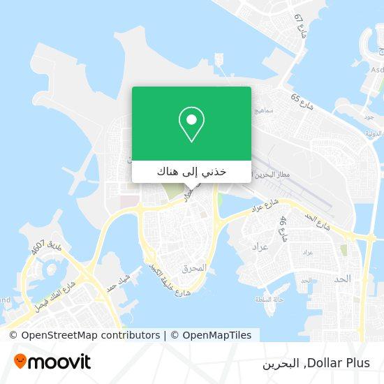خريطة Dollar Plus