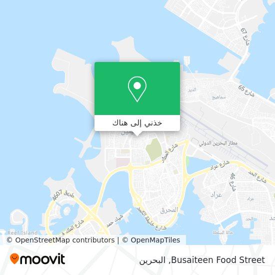 خريطة Busaiteen Food Street