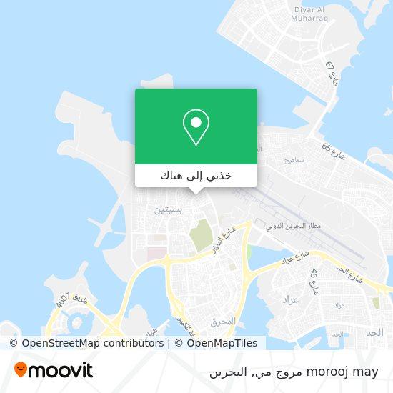 خريطة morooj may مروج مي