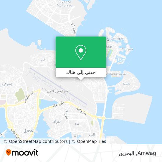 خريطة Amwag