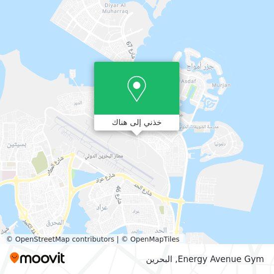خريطة Energy Avenue Gym