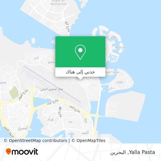 خريطة Yalla Pasta