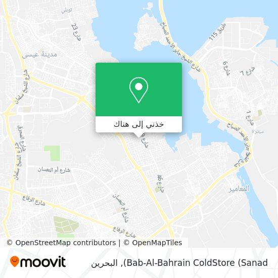 خريطة Bab-Al-Bahrain ColdStore (Sanad)